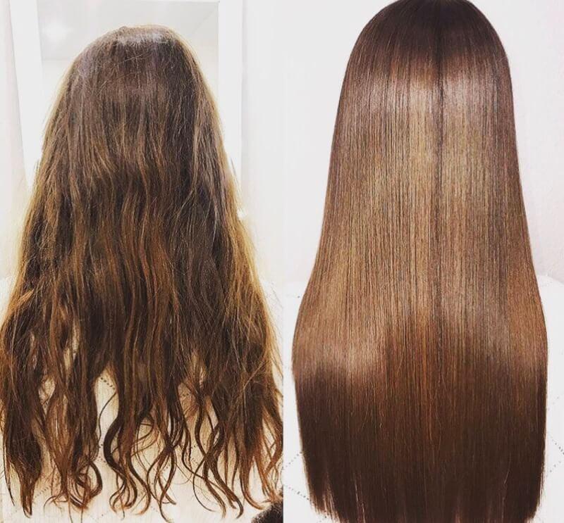 жена изменяет фото кератиновое выпрямление волос до и после лесная
